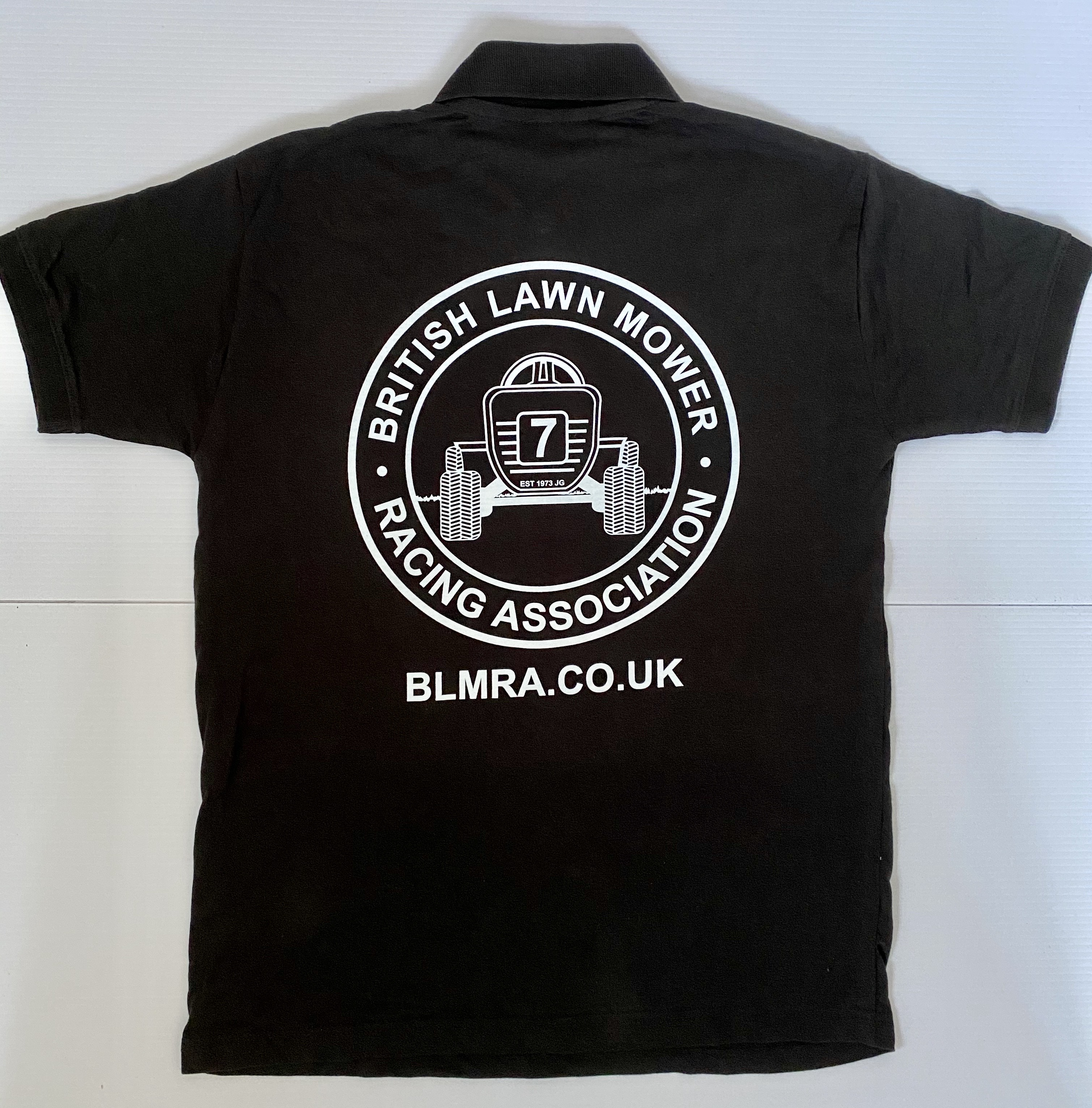 BLMRA Logo Competition Polo Shirt - 'Number 7' Logo